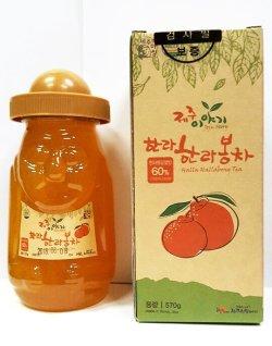 画像1: 漢拏峰(ハンラボン)蜂蜜茶(韓国済州島産)570g*12本 1box価格