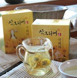 画像1: 菊花茶 ティーバッグ