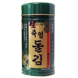 画像1: 竹塩岩海苔 1缶(180枚)*12缶@1680円[1box価格]